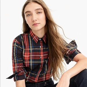JCREW Plaid Burton Down